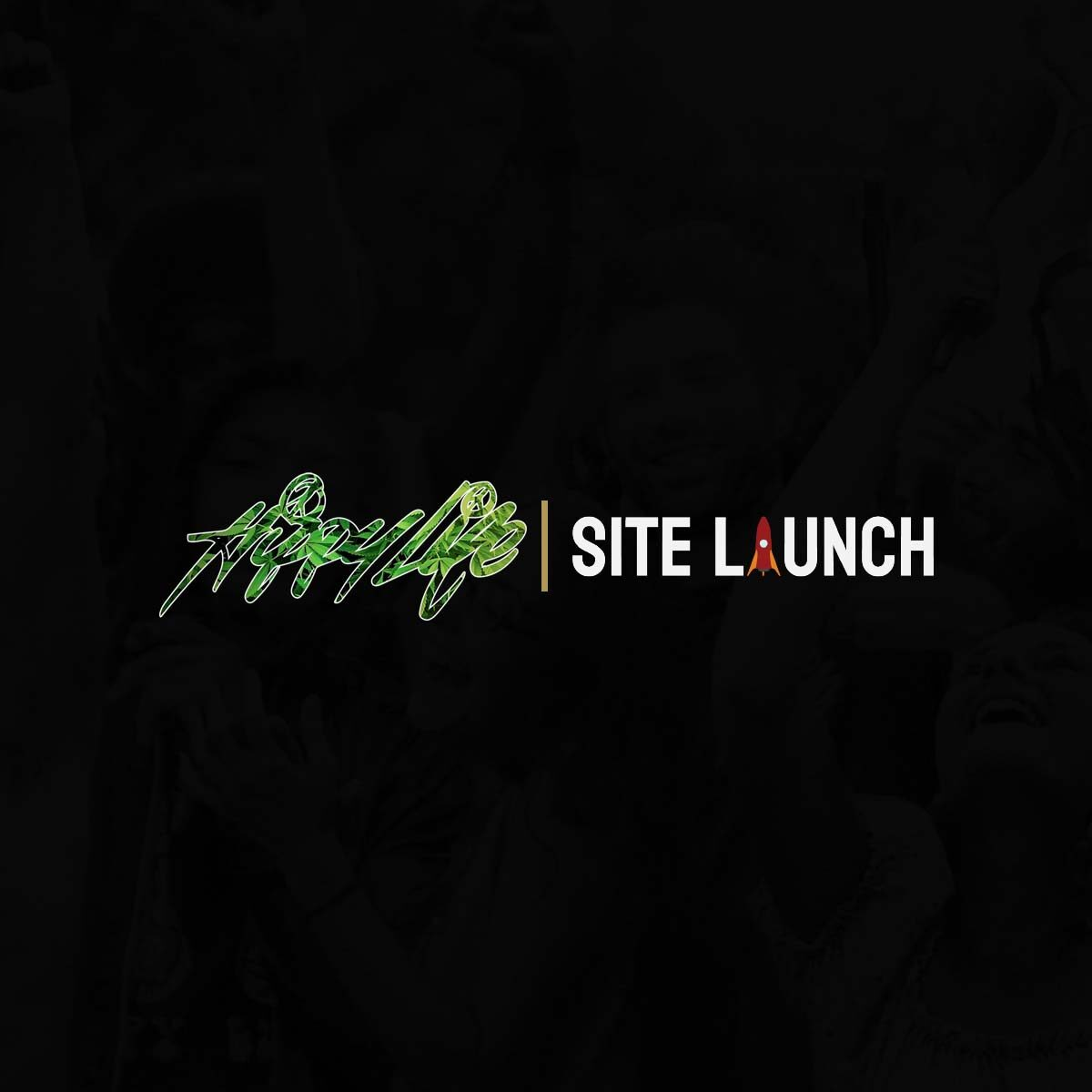 Hippy Life and Site Launch logo